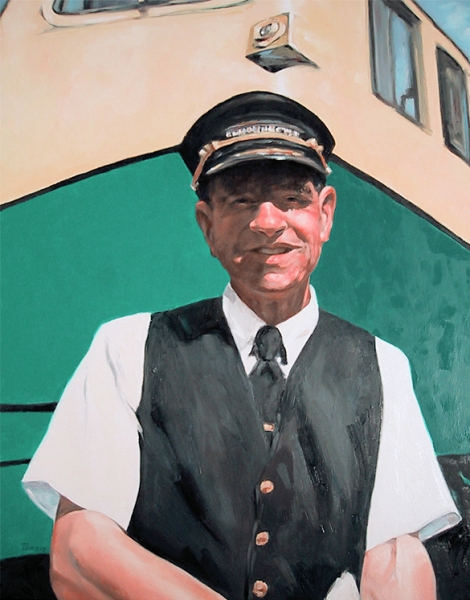 Lee, Conductor, Whitepass and Yukon Railroad, Skagway