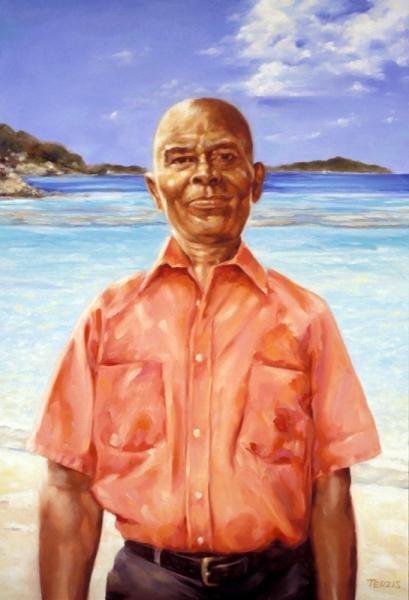 Winston, Taxi Driver, Tortola